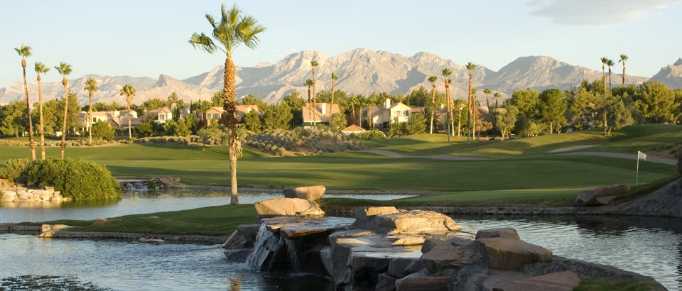 A view of Canyon Gate Country Club