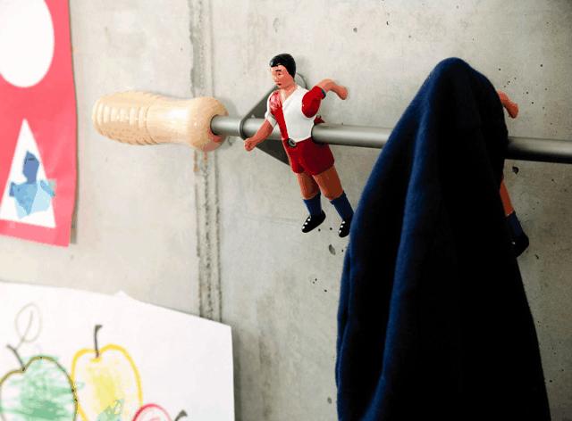 foosball-coat-hanger
