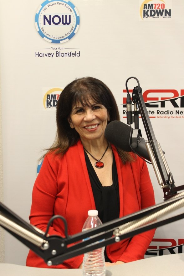 Teri Maloney is welcomed to RERNLV